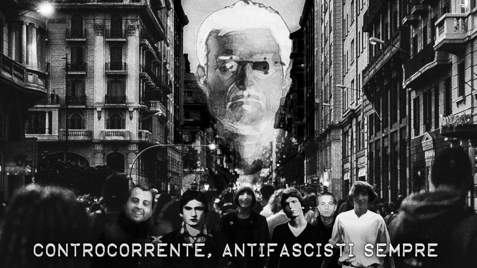 CONTROCORRENTE - ANTIFASCISTI SEMPRE