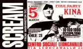 19880305 Leoncavallo Scream Fire Party Kina