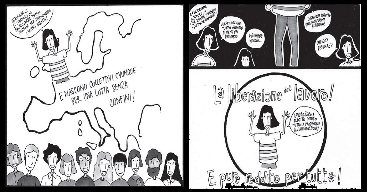 La gig economy a fumetti!