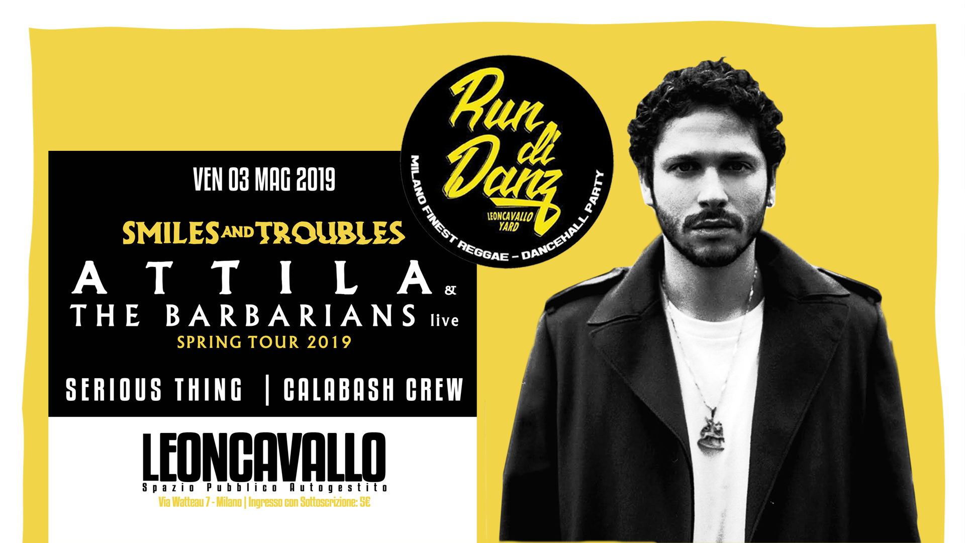 Run Di Danz | Attila & The Barbarians live