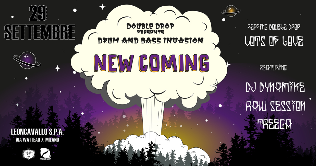 Drum and Bass Invasion - New coming