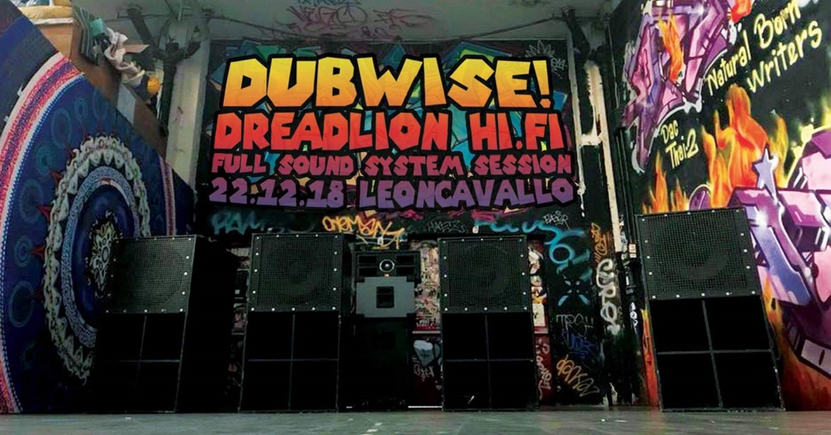 Dubwise | Dread Lion Hi.Fi full sound system