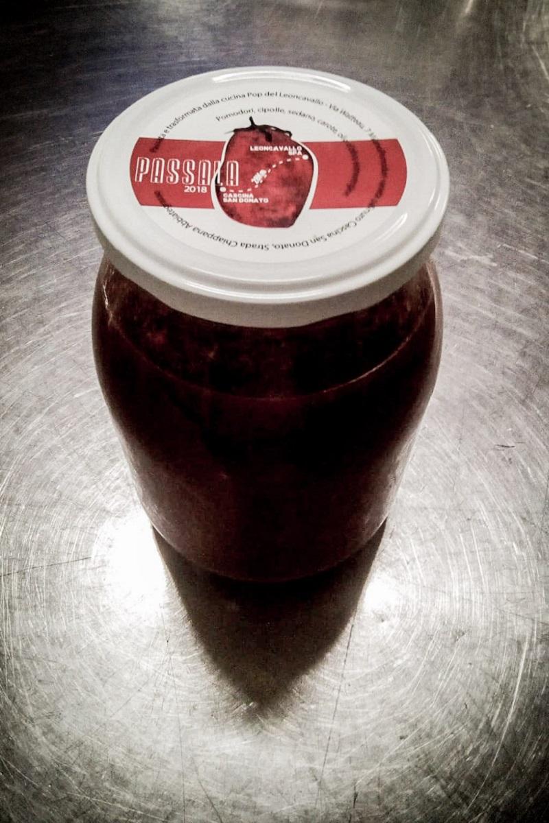 PASSALA! Salsa di pomodoro a filiera diretta.
