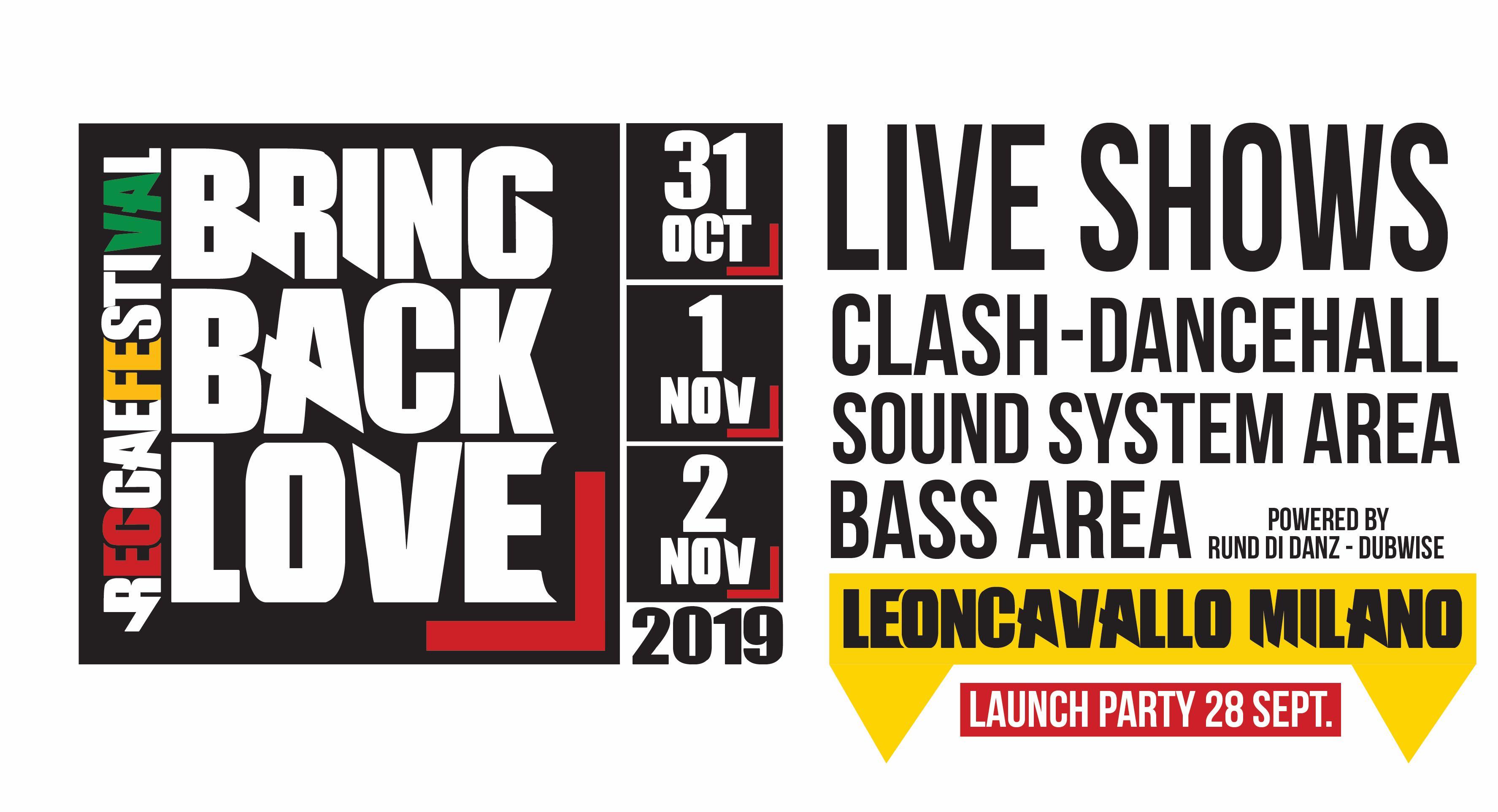 Bring Back Love Reggae Festival