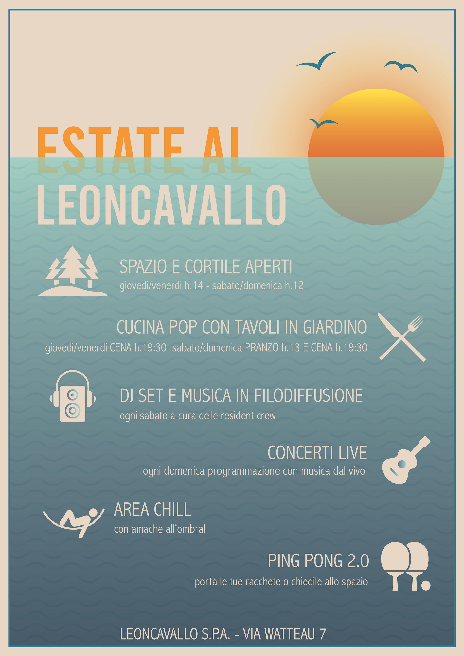 ESTATE AL LEONCAVALLO!